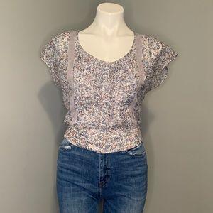Guess Los Angeles floral blouse